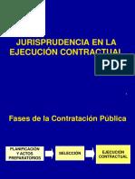 Jurisprudencia en La Ejecucion de Obra Contractual
