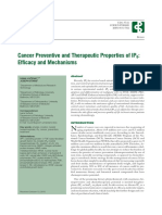 Cancer Preventive and Therapeutic Properties of IP6