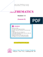 Mathematics, Standard 11, English Medium, Semester 2, 2015_2