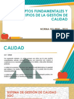 Conceptos Fundamentales ISO 9000