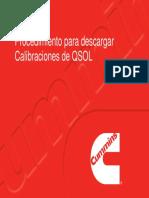Descarga Calibraciónes de QSOL