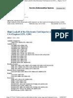 Procedimiento para Detectar fugas en inyector de motor C4.4 Caterpillar