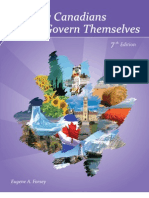 How Canadian Govern Themselves (TXTBOOK)