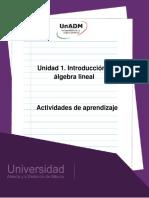 Unidad 1. Actividades de Aprendizaje-1