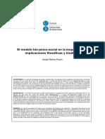El Modelo Biopsicosocial de La Esquizofrenia
