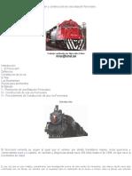 Ferrocarriles planeacion