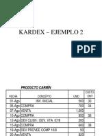 Kardex II – Ejemplo 2 - 2017