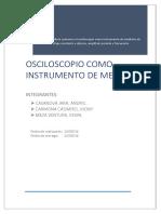 Team MOCHICA 1er Informe de Físia III