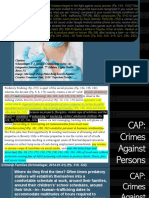 Crimes Against Persons_Mafia Organized Injections With Intent to Produce Death and Injury or Misery