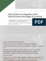 Linfohistiocitosis hemofagocitica familiar