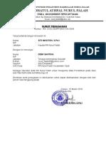 Surat Penunjukan Operator Ra