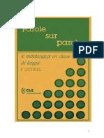 Cicurel F. - Le métalangage en classe de langue.pdf