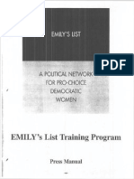 A Political Network for Pro-Choice Democratic Women
