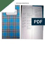 Foto Buku Register Kia