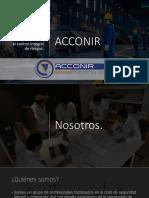 ACCONIR - Curriculum