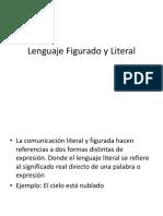 Lenguaje Figurado y Literal 7º básico