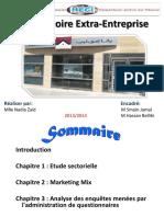 Téléchargé Observatoire 2014.Projet Extra Entreprise.wafa Immobilier .Par Nadia.zaid