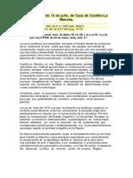Ley de Caza de Castilla La Mancha