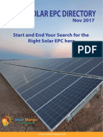 India Solar EPC Directory From Solar Mango Edition 2017