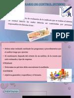 Cuestionario de Control Interno y Carta de Compromiso