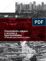 CRECIMIENTO URBANO Y ACCESO A OPORTUNIDADES