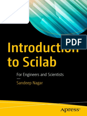 Introduction to Scilab for Engineers and Scientists [2017