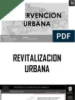 Intervencion Urbana AVENIDA BOLOGNESI-TACNA