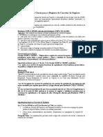 Informacoes Gerais Para o Registro de Corretor de Seguros