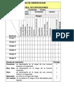 listadecotejodeexposiciones-120622062936-phpapp02