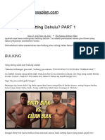 Bulking Atau Cutting Dahulu_ PART 1 – TheFamousFitnessplan