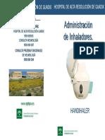 DGU19 Administración de Inhaladores. HANDIHALER