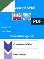 SPSS Presentation (Jan, 2017)[FA]