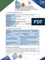Guía de Actividades y Rúbrica de Evaluación - Fase 3 - Presentar Informe Con La Solución de Los Problemas Conceptos Básicos y Estados Financieros