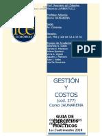 GyC 277 AV CORDOBA - Guia de Ejercicios Practicos JAUNARENA 2018 1erC