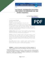 Matematicas Electorales Distribucion de Escaños en Elecciones Luis Diego Brenes Villalobos