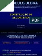 Construção de Algoritmos