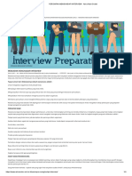 Persiapan Menghadapi Interview - Astra Main Dealer