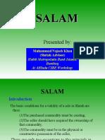 Bai Salam by Mufti Mujeeb