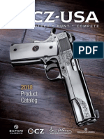 Cz Usa 2018 Firearms Product Catalog