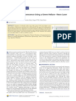 2011 Molecular Iodine Fluorescence Using a Green Helium-Neon Laser