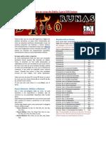As Runas de Diablo 2 No Sistema D20