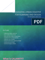 Recognizing Urban Disaster for Planning and Design