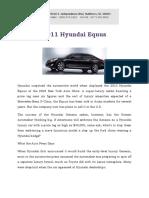 2011 Hyundai Equus North Carolina