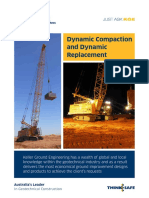 Dynamic Compaction and Dynamic Replacement