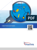 FA_FB Cable Float Level Switch