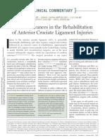 estudios actuales en rehabiltiacion ACL
