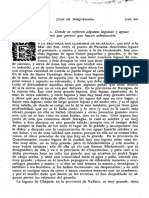 Monarquia Indiana, Vol. IV, Libro XIV, Cap. XXXVII, p. 412, Lagunas y Aguas