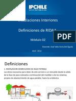 Módulo 02 Definiciones de RIDAA