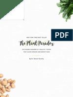 Plant Paradox Shopping LIst