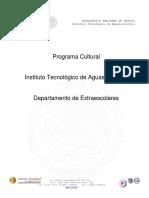 Programa Cultural 2016
